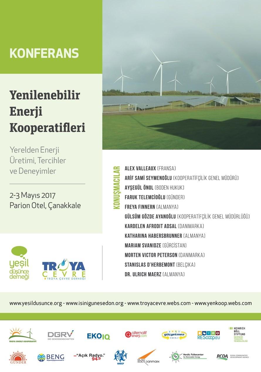 2'nci Yenilenebilir Enerji Kooperatifleri Konferansı